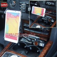 Car Cell Mount Bendable Arm+USB+Cigarette Port/Outlet Fit Samsung Galaxy Note 3