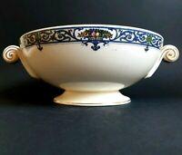 Antique Royal Worcester Crown Ware Kenilworth Serving Bowl Vegetable Dish :C6