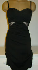 Kardashian Kollection black bustier style dress strapless bodycon-L-NWT-$99