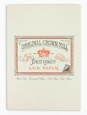 Crown Mill Luxury A5 Writing Paper Pad 50 Sheets CREAM