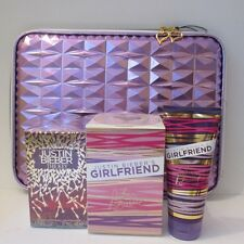 Justin Bieber Gift Set THE KEY & Girlfriend Perfume Body Lotion Laptop Case $235