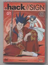 DVD HACK SIGN VOLUMEN 5 MANGA SUPERNENAS EN BLÍSTER 4 EPISODIOS ANIMACIÓN