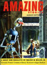 Amazing Stories EMSH Kendell Foster Crossen WALTER M. MILLER, JR. Henry Kuttner
