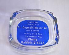Vintage - Ft. Deposit Motor Co. (Alabama) Advertising Ashtray