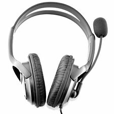 OverHead Headphones Headset + Mic for Live Chat for PS4 Dualshock Controller PCs