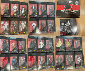 "STAR WARS:(30) BLACK SERIES 6"" FIGURES PICK: Rex,Ahsoka,C3-PO,Jango,Phasma,Jaina"