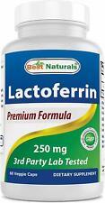 Best Naturals Lactoferrin 250 mg 60 Veggie Capsules