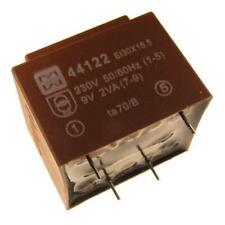myrra MY44122 Trafo 230V Printtrafo 2VA 9V Netztrafo Transformator 107597