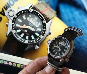 Vintage citizen Aqualand Promaster divers quartz watch rare in good condition