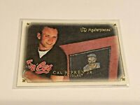 2007 UD Masterpieces Baseball Base Card #55 - Cal Ripken Jr - Baltimore Orioles