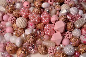Shabby Chic Bead Mix by Lilah Ann Beads - Boho, Wood, Woven, Crystal - BM311