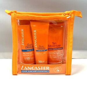 Lancaster Your Suncare Essentials Sun Beauty/Tan Maximizer (Travel Exclusive)NEW