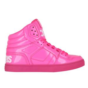 Mens Osiris Clone Skateboarding Shoes NIB Pink Pink White