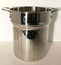 Calphalon Stainless Steel 12 Qt. Quart All Purpose Pasta Insert NIB