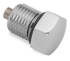 "Colony Domed Transmission/Oil Drain Plug 1/2""-20 Chrome #2295-1 Harley Davidson"