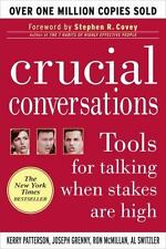 Crucial Conversations Tools for Talking Kerry Patterson FREE SHIPPING paperback