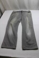 J7734 Wrangler Texas Stretch Jeans W36  Grau  Sehr gut