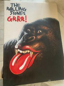 "Rolling Stones ""Grrr!"" super rare limited 5CD box set"