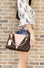 Louis Vuitton Handbag Satchel V Tote BB Rose Pink Monogram Shoulder Bag RECEIPT