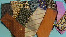 Designer tie lot,Longchamp, Zegna,Valentino,Armani,Kronen, 12 ties !