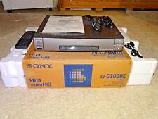 Sony ev-c2000 high-end hi8 grabadora de video, embalaje original w. nuevo, fb&bda, 2 años de garantía