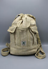 Natural Himalayan Hemp Drawstring Rucksack