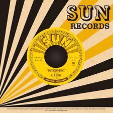 "D.A HUNT Greyhound Blues / Lonesome 7"" Third Man Sun Rufus Thomas Joe Hill Louis"