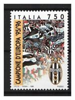 S20134) Italy MNH 1996 Juventus Campione D'Europa 1v