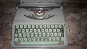 Hermes Rocket Sea Foam Green Typewriter