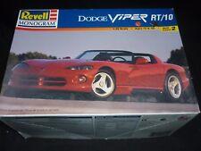 Revell monogram plastic kit of a Dodge viper RT/10  boxed, ( started )