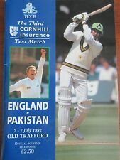 Cricket Pakistan England 1992 - in Support of Combat Stress Charity