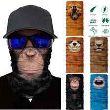 3D Animal Ski Cycling Snowboard Scarf Neck Warmer Face Mask Balaclava Bandana