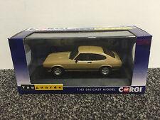 Ford Capri mk3 3.0 Ghia OYSTER GOLD VANGUARDS 1:43 Corgi