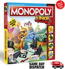 Monopoly Junior Board Game 2018 Version NEW