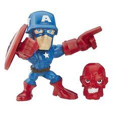 Marvel Super Hero Mashers Micro Series 1 Captain America Action Figure