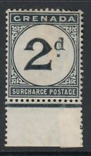 Grenada 1892 2d Postage Due SGD2 Mounted mint