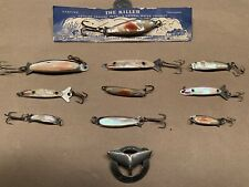 New listing Vintage Abalone/Mop Lure Lot Of 10