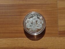 NFL Silver 1 OZ Super Bowl  .999 Coin Limited Edition