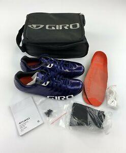 Giro Empire SLX Road Cycling Shoes Men's EU 42.5 / US 9.5 Ultra Violet New