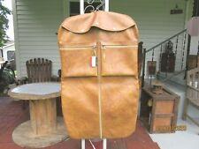 Vintage American Tourister Leather Garment Bag Suit Travel