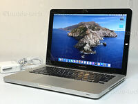 "Apple MacBook Pro 13"" Laptop A1278 UPGRADED 8 GB RAM+128GB SSD solid state drive"