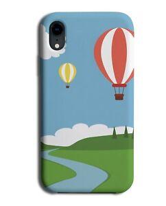 Hot Air Balloon Design Phone Case Cover Balloons Ride Sky River Cartoon M411