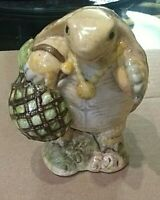 BEATRIX POTTER'S MR. ALDERMAN PTOLEMY copyright 1973 BESWICK ENGLAND