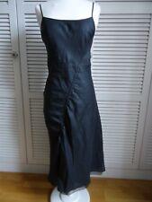 TARA JARMON Robe fines bretelles grise T36