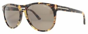 Tom Ford CALLUM Sunglasses Light Brown Havana Frame FT289 53E 57-15 140
