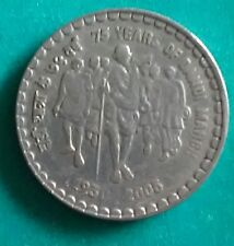 5 rupees coins old Dandi March Mahatma Gandhi