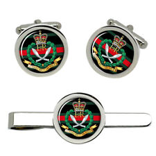 Gurkha Military Police, British Army Cufflinks and Tie Clip Set