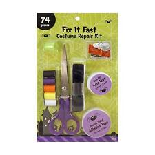 Dyno Merchandise Fix It Fast Halloween Costume Repair Kit 74 Piece Set