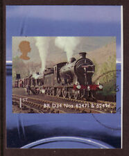GREAT BRITAIN 2012 CLASSIC LOCOMOTIVES OF SCOTLAND SELF/AD. FINE USED