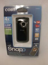 NEW COLBY SNAPP CAM3005 4X DIGITAL ZOOM 1.3 MP 1.8 LCD 3 HRS DIGITIAL CAMCORDER